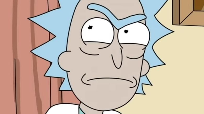 Rick and Morty Rick Angry