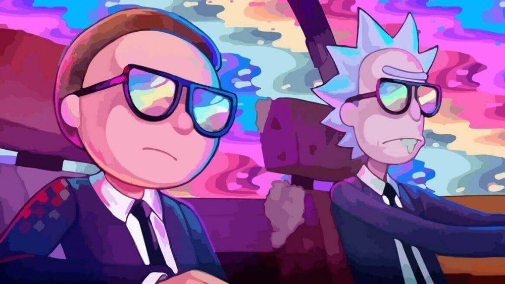 Rick and Morty season 4 promo image