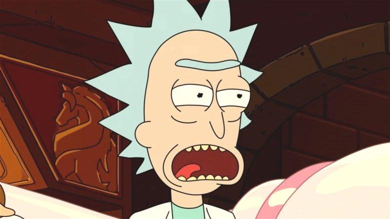 Rick Sanchez in Adult Swim's Rick and Morty