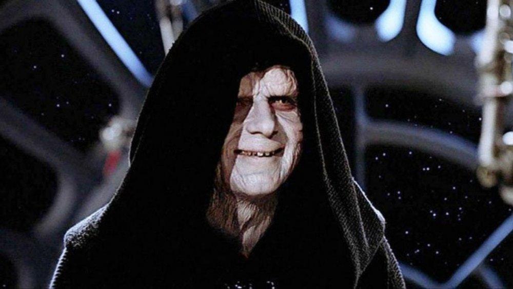 Ian McDiarmid as Emperor Palpatine in Return of the Jedi