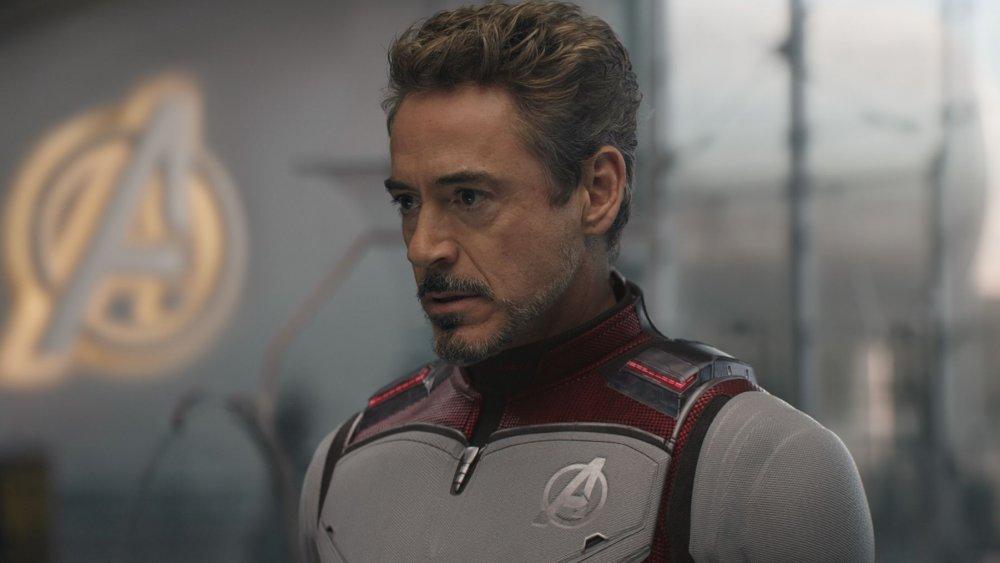 Robert Downey Jr. as Tony Stark aka Iron Man in Avengers: Endgame