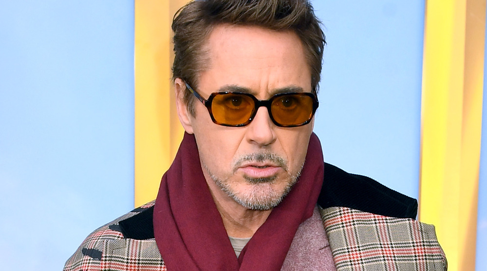 Robert Downey Jr. on red carpet