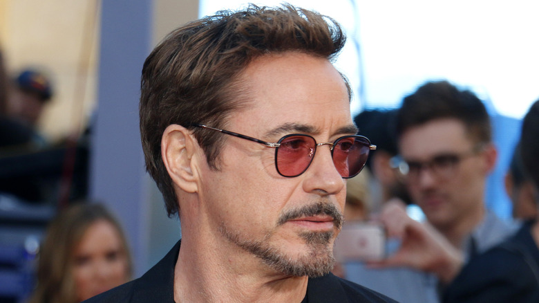 Robert Downey Jr. wearing sunglasses