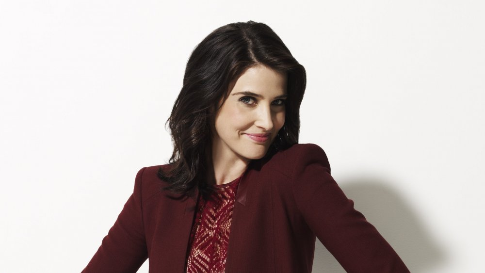 Cobie Smulders as Robin Scherbatsky in a promotional photo for How I Met Your Mother