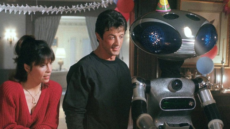 Stallone and Sico robot in Rocky IV