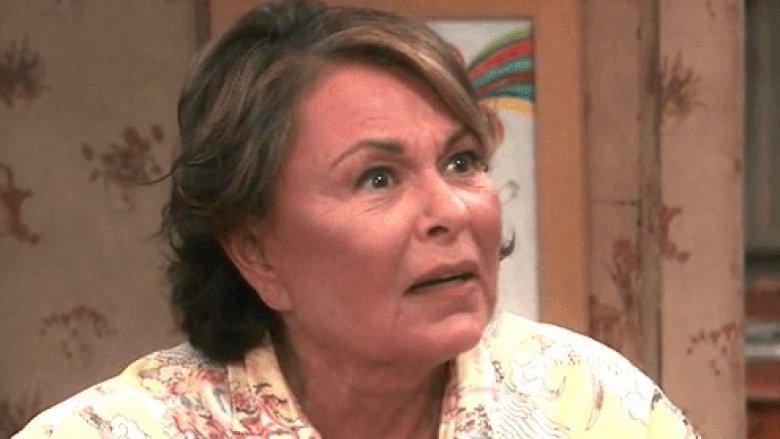 Roseanne Barr in Roseanne on ABC