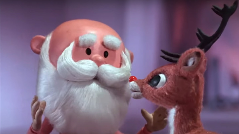 Santa Claus and Rudolph in Rudolph the Red-Nosed Reindeer