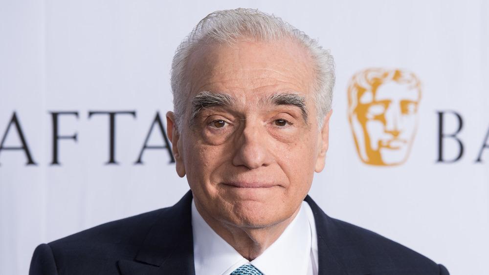 Martin Scorsese smiling