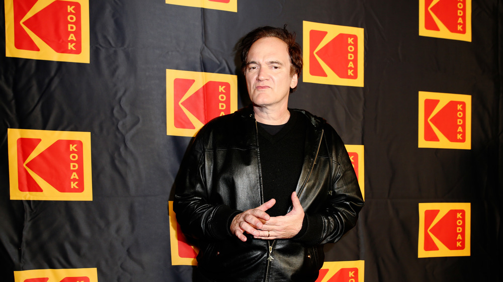 Quentin Tarantino on the red carpet