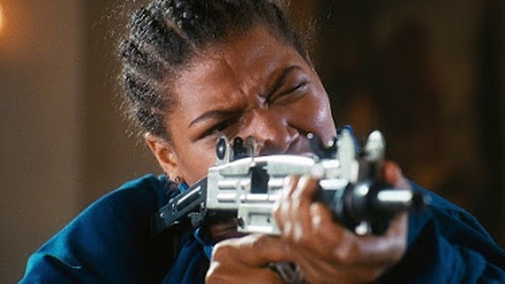 """Queen Latifah as Cleopatra """"Cleo"""" Sims in Set It Off"""