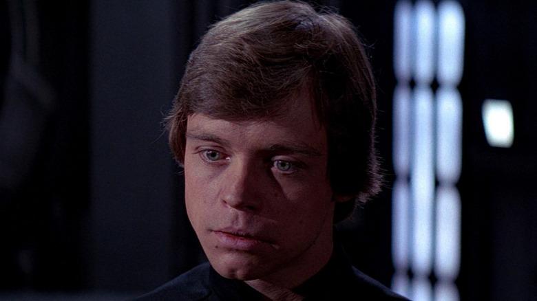 Luke Skywalker stares