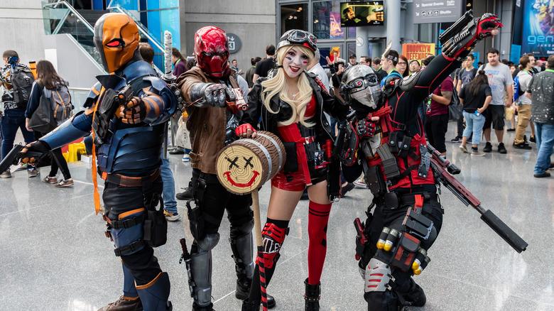 Comic-con cosplayers