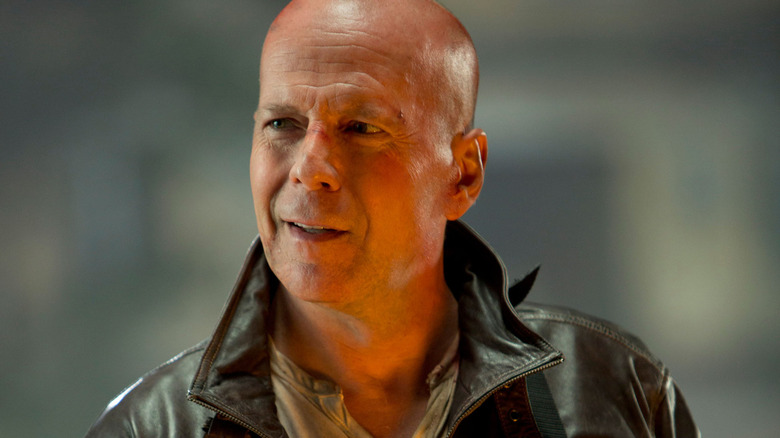 Bruce Willis as John McClane in A Good Day to Die Hard