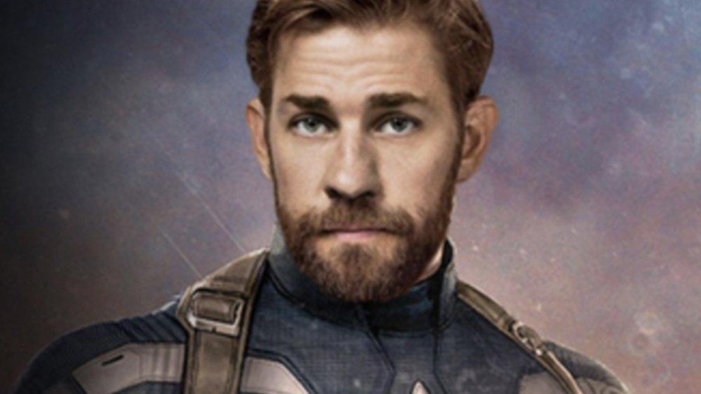 John Krasinski as Captain America fan edit