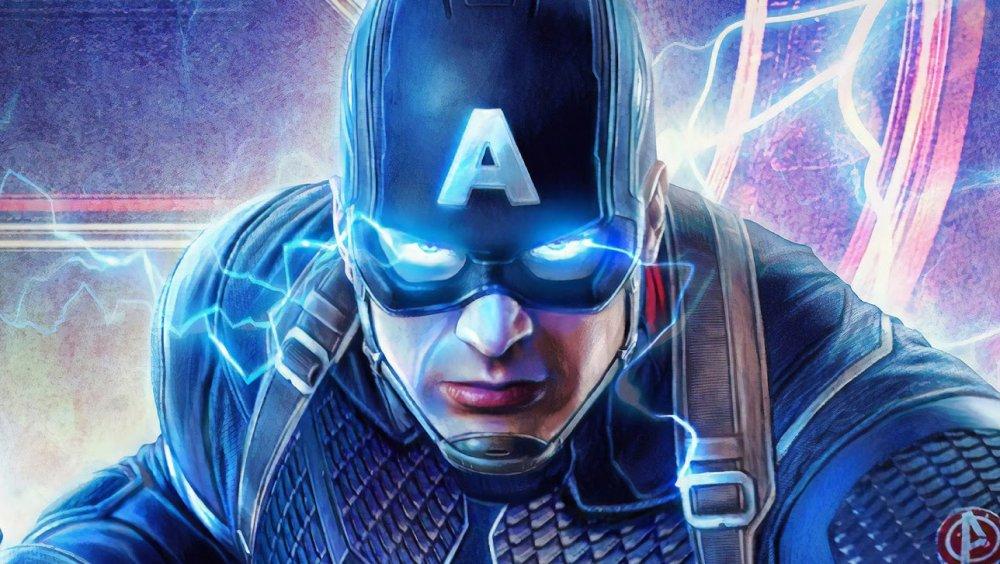 Avengers: Endgame Captain America art
