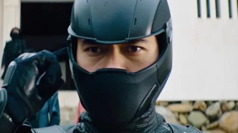 Snake Eyes in his upcoming origins film
