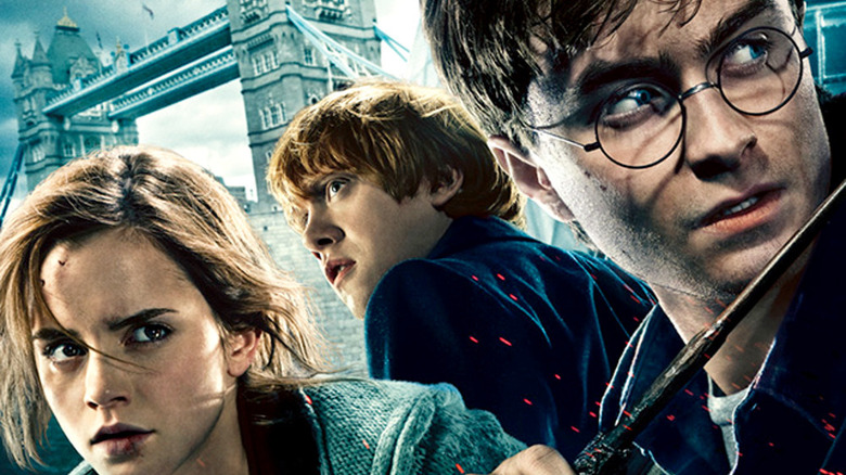 Harry Potter and the Deathly Hallows Part 1 poster