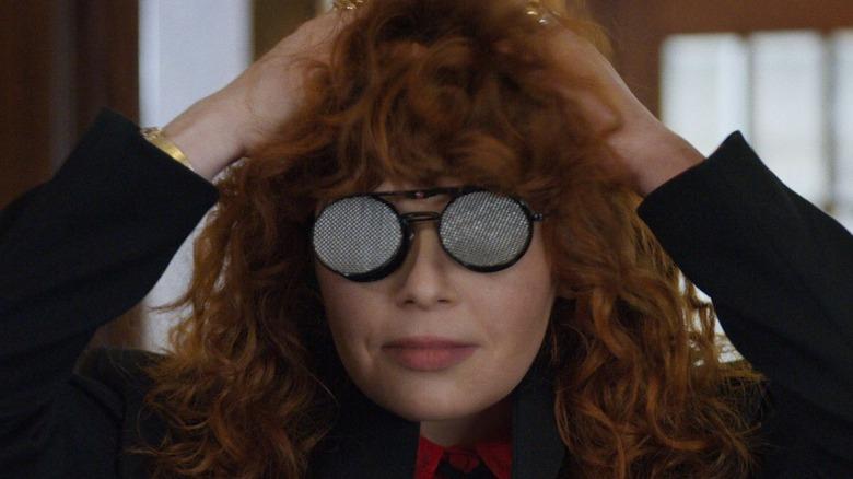 Nadia in glasses