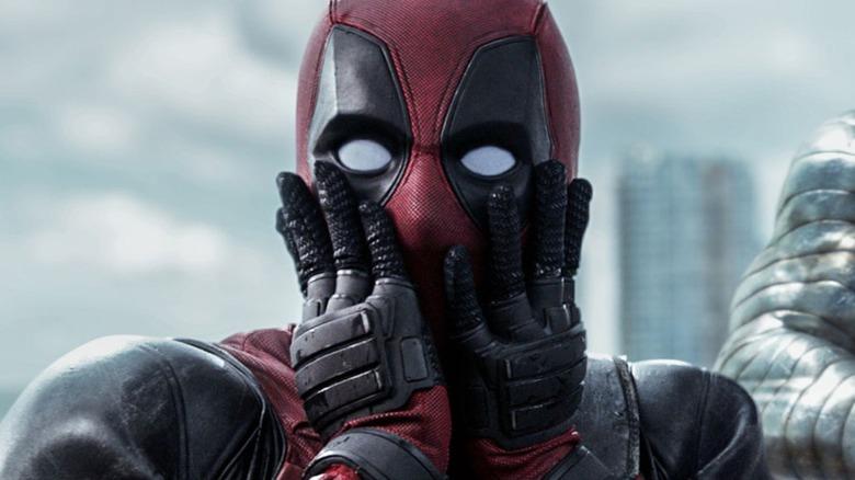 Ryan Reynolds Deadpool surprised