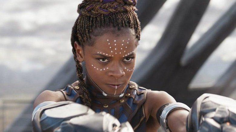 Black Panther Shuri Letitia Wright
