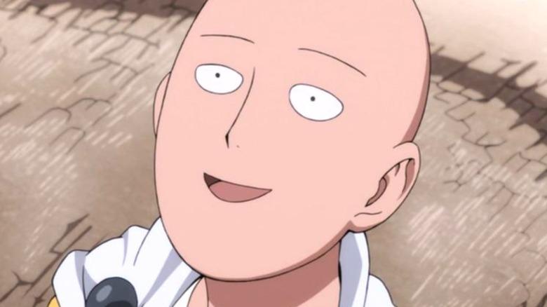 One Punch Man Saitama Face