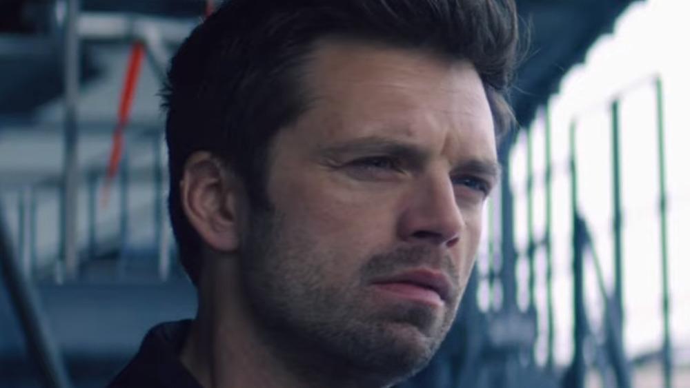 Bucky Barnes Winter Soldier confused