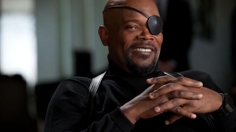 Samuel L. Jackson in Iron Man 2
