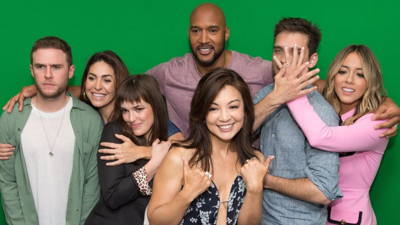Cast of Marvel's Agents of S.H.I.E.L.D.