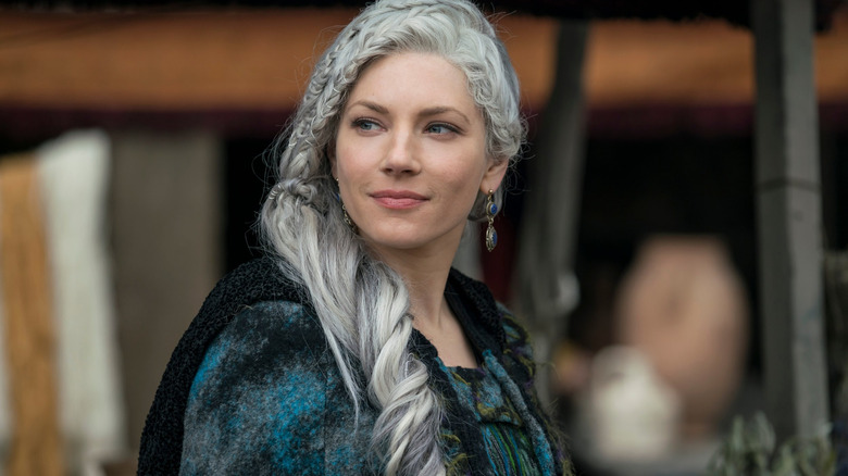 Katheryn Winnick as Lagertha on Vikings