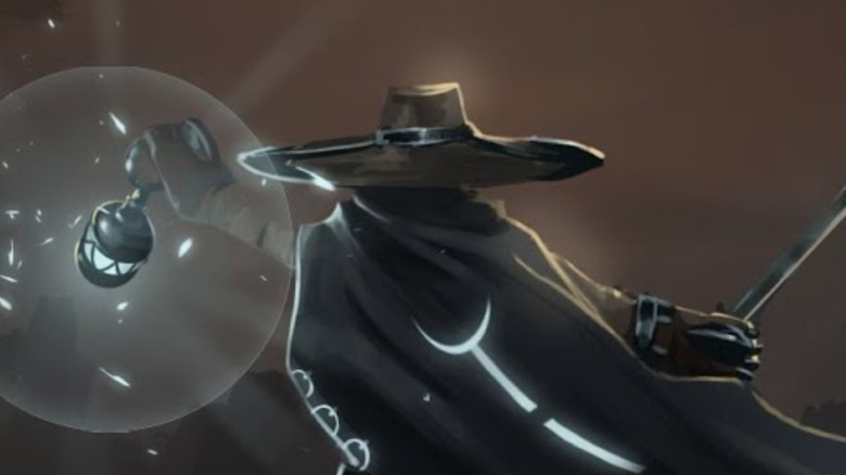 Mysterious Hat Charecter