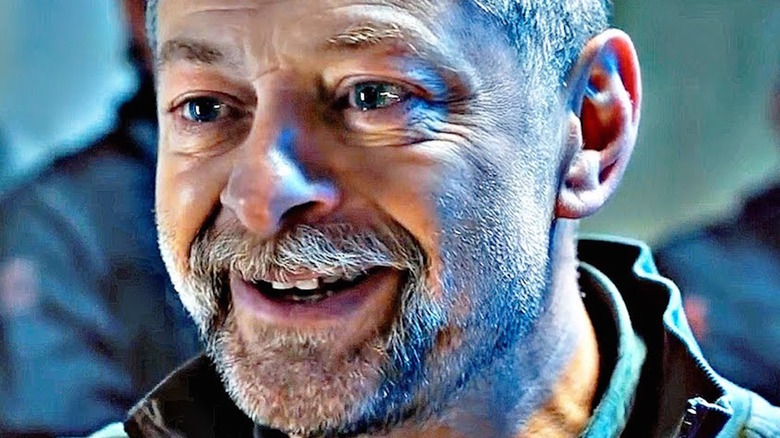 Andy Serkis in SAS: Red Notice