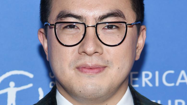 Bowen Yang smile glasses