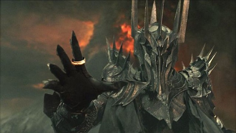 Sauron from the Fellowship of the Ring