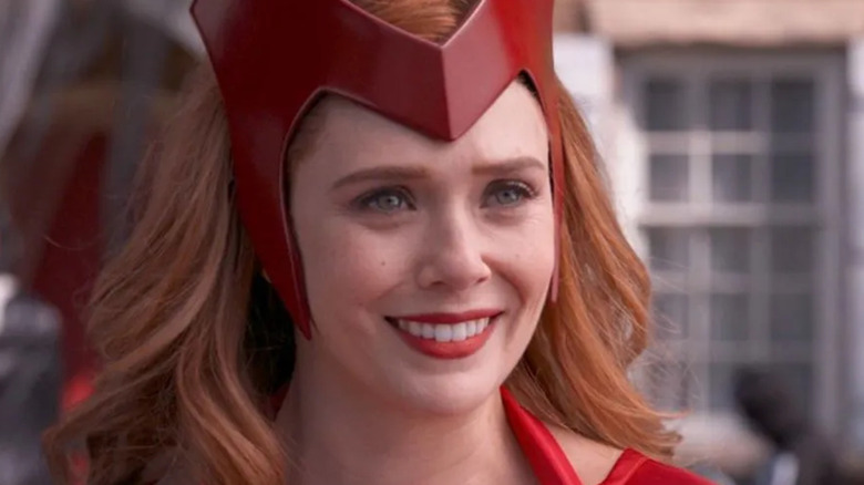 Scarlet Witch smiling