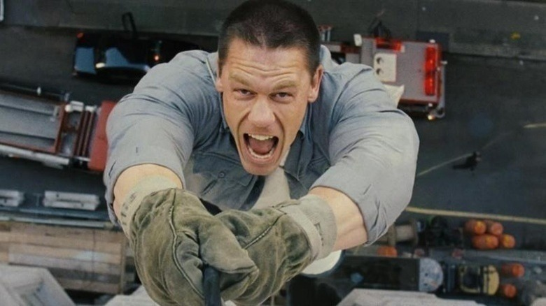 Apparently, John Cena has a severe fear of heights and triggered intense anxiety, that he even considered walking away, but somehow he managed and shot the scene without incident.
