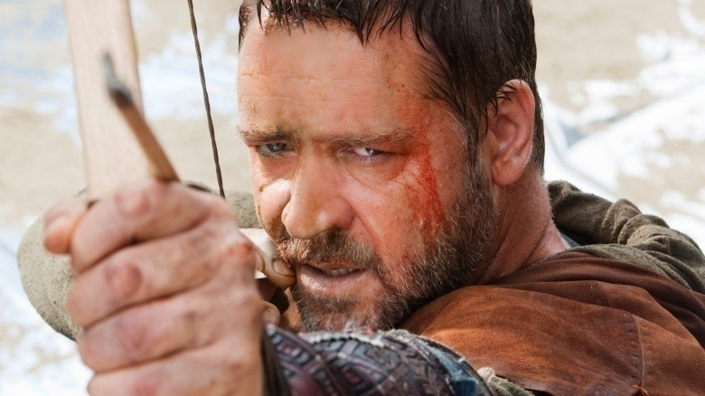 Russell Crowe, who agreed to star in Nottingham, demanded a complete overhaul of the script, resulting in retitling Robin Hood.