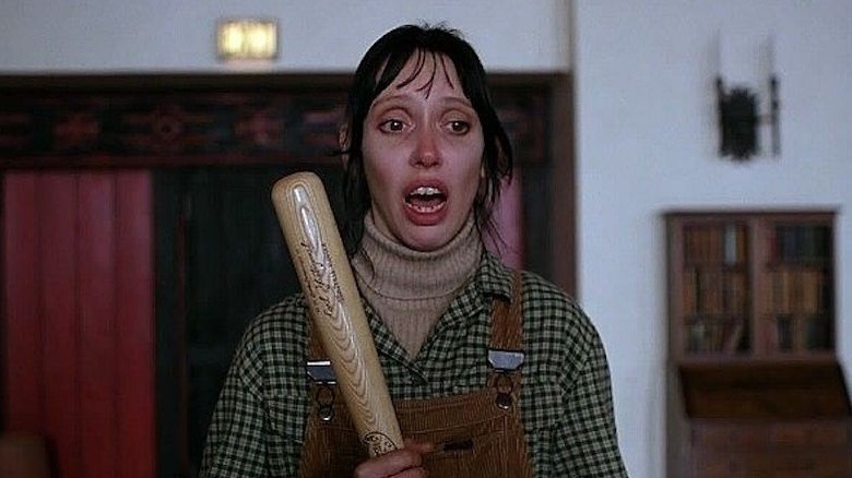 Shelley Duvall said that the stress made her hair fall out from shooting the Shining, as she has to give more than 100 takes for a scene.