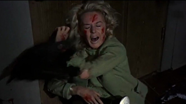 Tippi Hedren had a breakdown after the scene where she was attacked by real birds even when she signed on the guarantee to be attacked by mechanical birds.