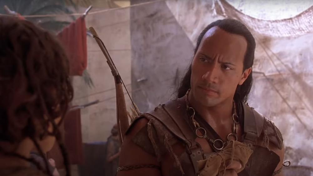 Dwayne Johnson in The Scorpion King