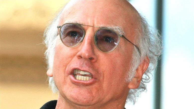 Larry David talking