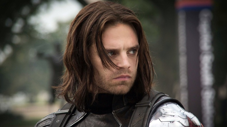 Sebastian Stan as the MCU's Bucky Barnes/Winter Soldier