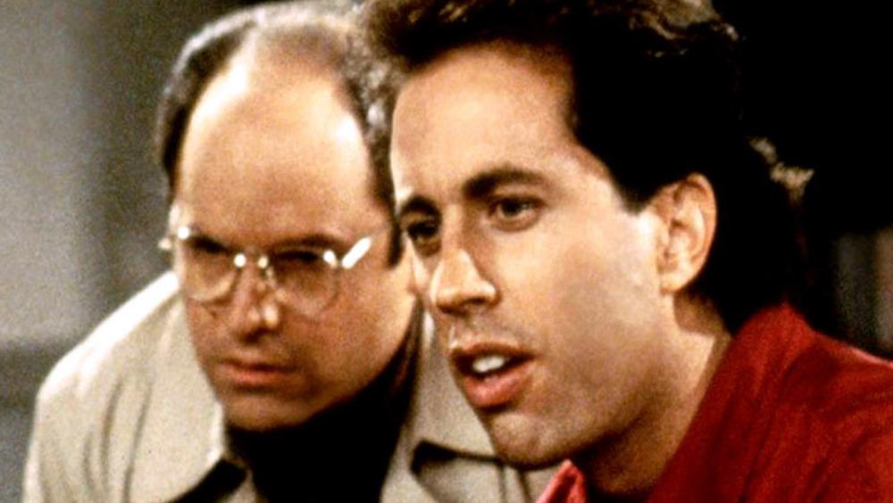 Jerry Seinfeld and Jason Alexander
