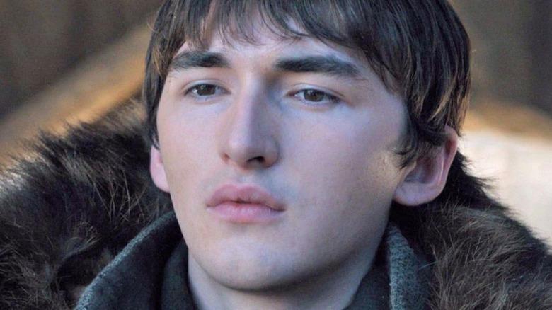 Bran Stark listening