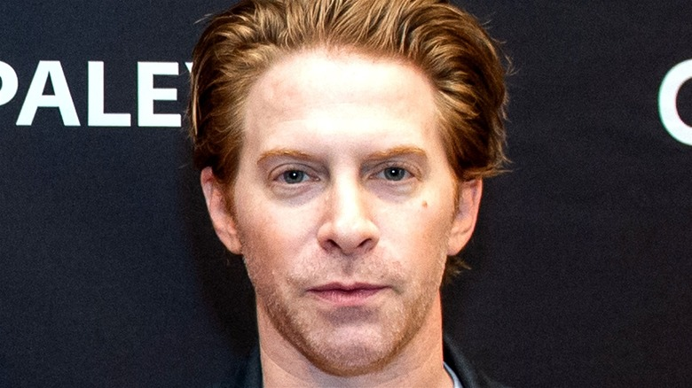 Seth Green on a red carpet