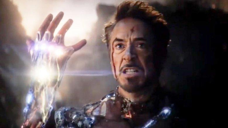 Robert Downey Jr. Avengers Endgame Iron Man Infinity Gauntlet