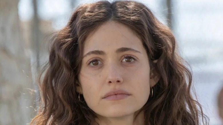 Fiona looking forlorn on Shameless