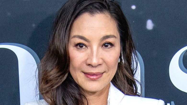 Michelle Yeoh smiling
