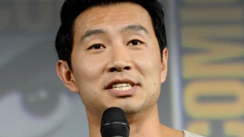 Simu Liu at the San Diego Comic-Con