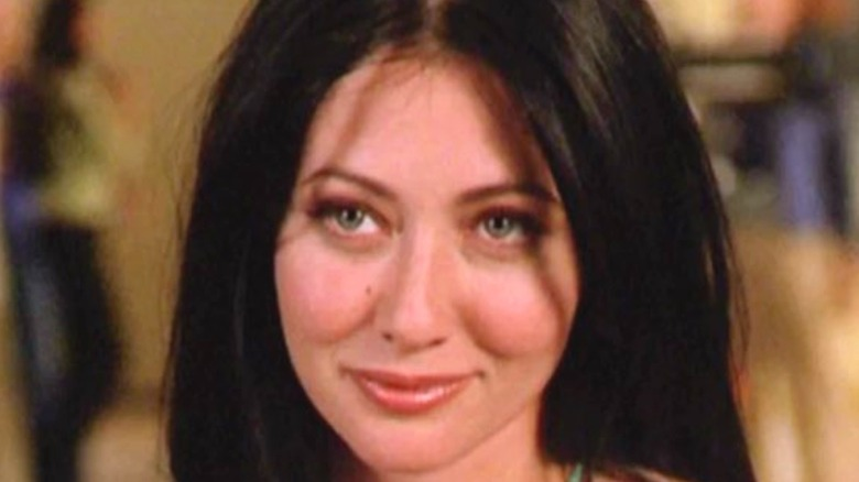 Shannen Doherty in her role as Prue Halliwell on Charmed