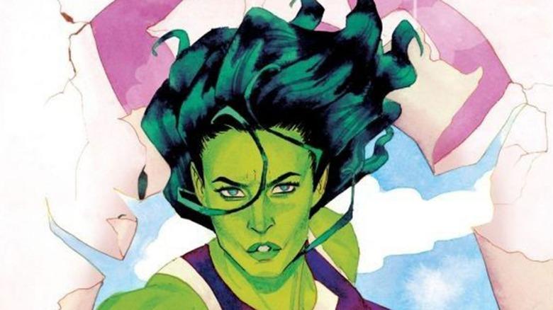She-Hulk Comic Cover